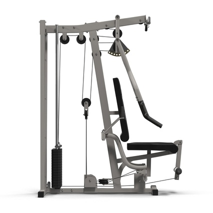 Weight Machine 2. Render 11