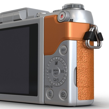 Panasonic DMC GF7 Brown. Render 34