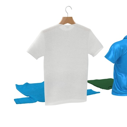 T-Shirts Collection. Render 14