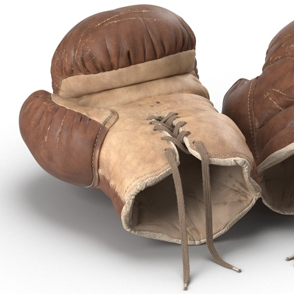 Old Leather Boxing Glove(1). Render 23