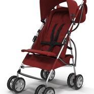 Baby Stroller Red. Preview 18
