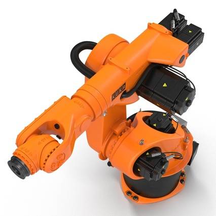 Kuka Robot KR 30-3 Rigged for C4D. Render 11