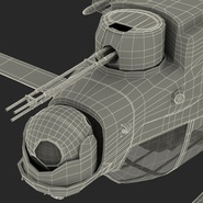 Attack Helicopter Bell AH 1Z Viper Rigged. Preview 105
