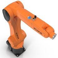 Kuka Robot KR 10 R1100 Rigged. Preview 23