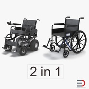 Wheelchairs Collection 2