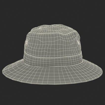 Fishing Hat. Render 5