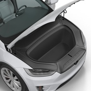 Tesla Model X Rigged. Preview 67