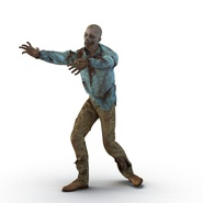 Zombie Rigged for Cinema 4D. Preview 3