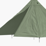 Floorless Camping Tent Open. Preview 12
