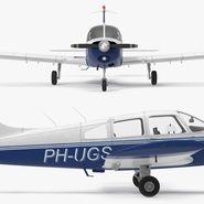 Piper PA-28-161 Cherokee Rigged. Preview 16