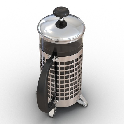 French Press. Render 9