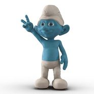 Smurf Rigged for Maya. Preview 6