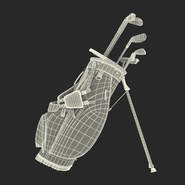 Golf Bag Seahawks with Clubs. Preview 24