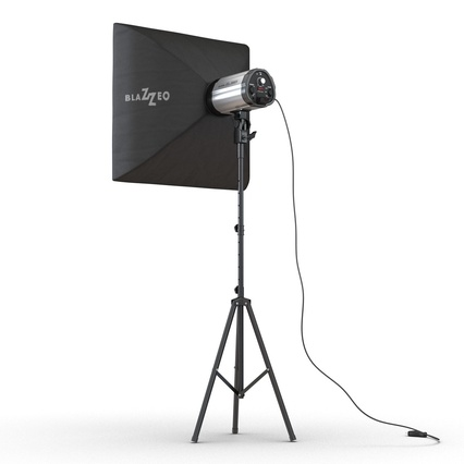 Photo Studio Lamps Collection. Render 53