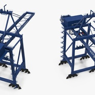 Container Crane Blue. Preview 10