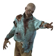 Zombie Rigged for Cinema 4D. Preview 52