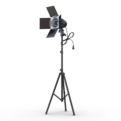 Photo Studio Lamps Collection. Render 17