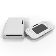 Nintendo Wii U Set White. Preview 7
