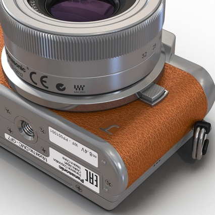 Panasonic DMC GF7 Brown. Render 40