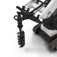 Compact Tracked Loader with Auger. Preview 24