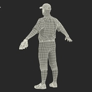 Baseball Player Rigged Athletics for Cinema 4D. Preview 26