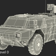 Fennek German Reconnaissance Vehicle Rigged. Preview 29