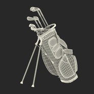 Golf Bag Seahawks with Clubs. Preview 26