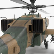 AH-64D Apache Longbow Japan Rigged. Preview 16