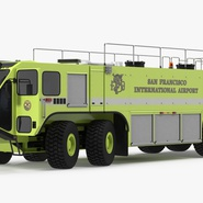 Oshkosh Striker 4500 Aircraft Rescue and Firefighting Vehicle Rigged. Preview 8