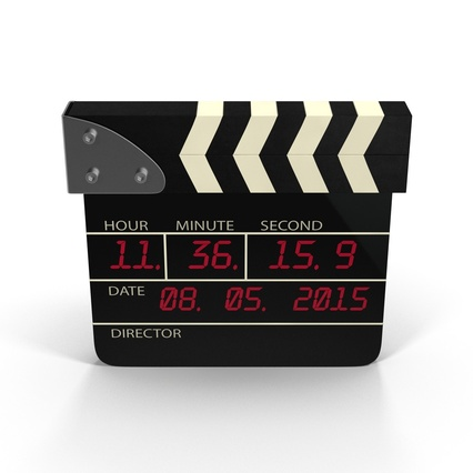 Digital Clapboard 2. Render 3
