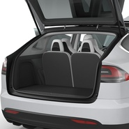 Tesla Model X Rigged. Preview 66