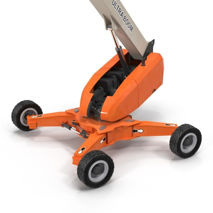 Telescopic Boom Lift Generic 4 Pose 2. Render 26