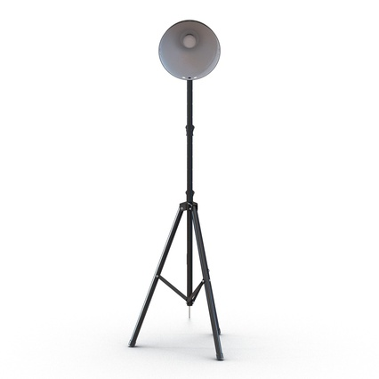 Photo Studio Lamps Collection. Render 30