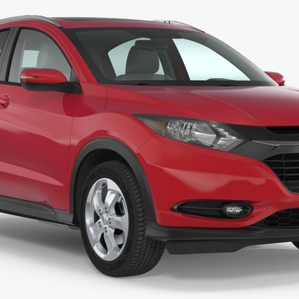 Compact SUV Honda HR-V 2017 3d model