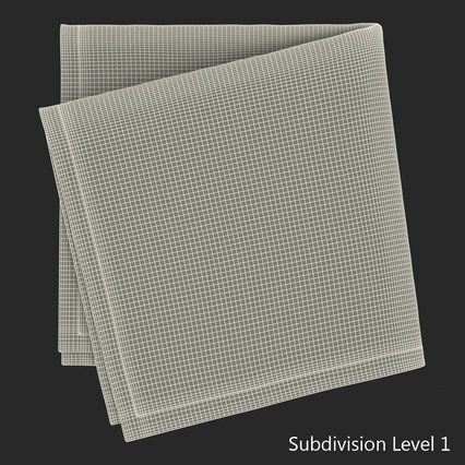 Napkins Collection. Render 34
