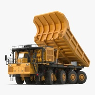 Mining Truck Rigged