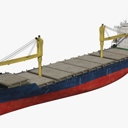 Sea Cargo Ship Generic. Render 12