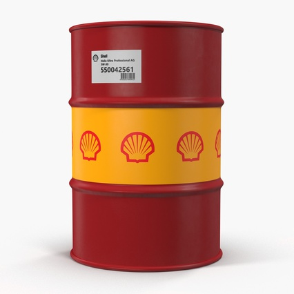 Oil Barrel Shell. Render 5