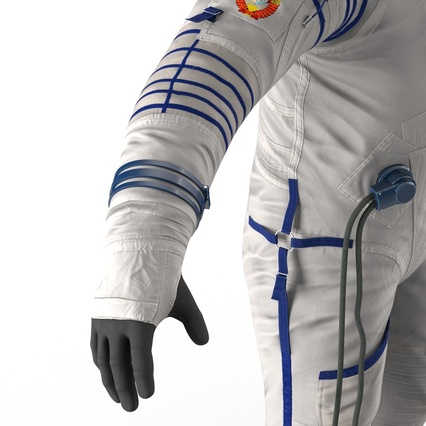 Russian Space Suit Sokol KV2 Rigged. Render 46