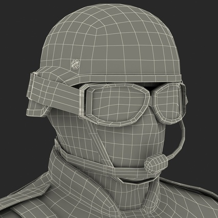 SWAT Uniform. Render 61