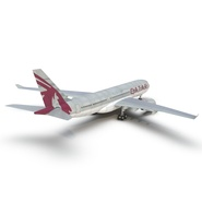 Jet Airliner Airbus A330-200 Qatar. Preview 22