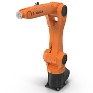 Kuka Robot KR 10 R1100 Rigged. Preview 22