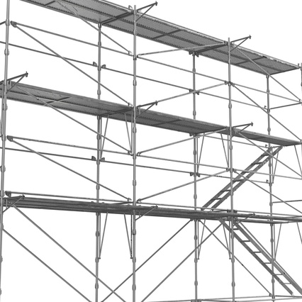 Scaffolding Collection 2. Render 25