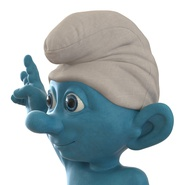 Smurf Rigged for Maya. Preview 29