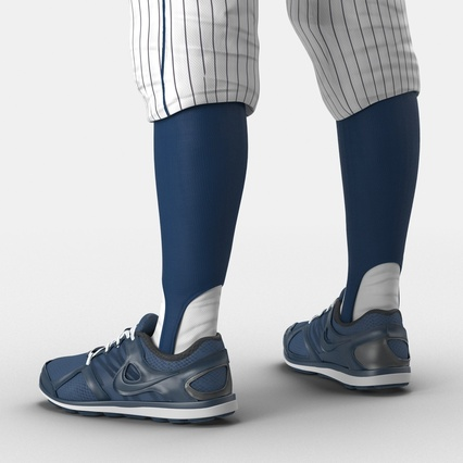 Baseball Player Outfit Generic 8. Render 27