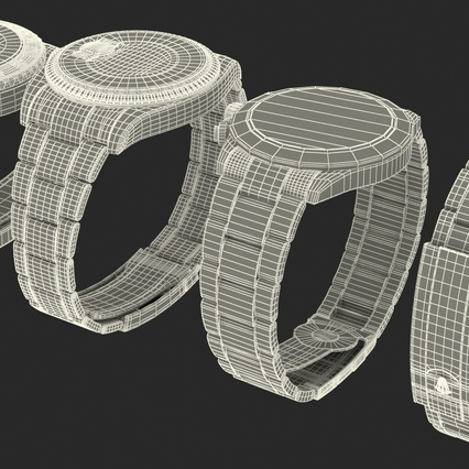 Rolex Watches Collection. Render 45