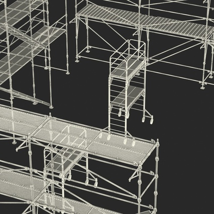 Scaffolding Collection 2. Render 57