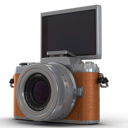Panasonic DMC GF7 Brown. Render 23