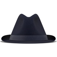 Fedora Hat Blue. Preview 6