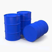 Oil Drum 200l Blue. Preview 7